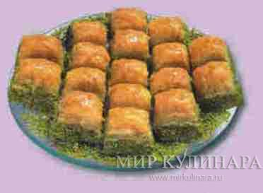 Баклава. Турецкая кухня....