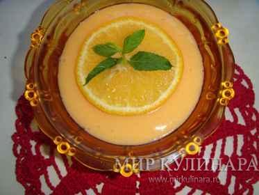 Нежное апельсиновое желе...