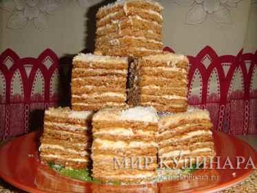 Торт Медовик (простой)...