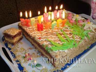 """Торт """"Нежный с суфле""""..."""