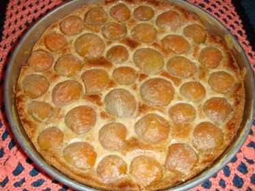 Фруктовый пирог по-эльзасски...