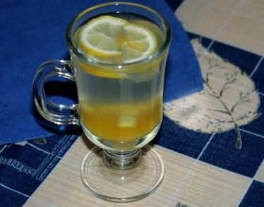 Чай имбирный (с лимоном и медом)...