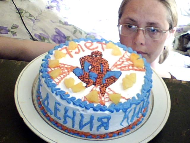 "Торт ""Человек Паук""..."