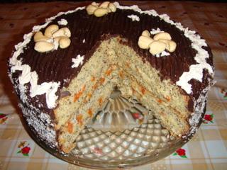 Маковый тортик
